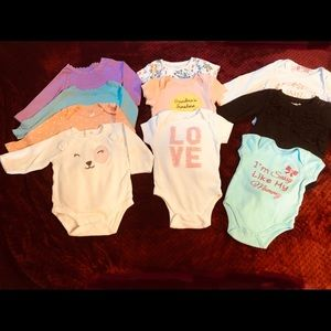 Onesies Long & short sleeves